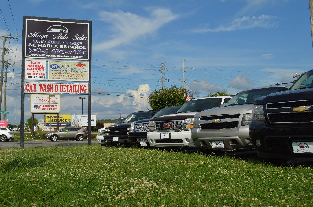 Virginia Auto Sales Tax >> About Us Maya Auto Sales Used Cars For Sale Richmond Va